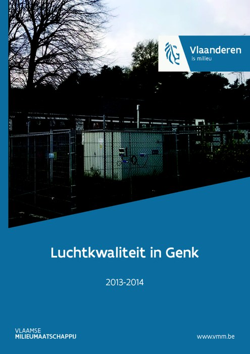 Cover rapport Genk 2013-2014