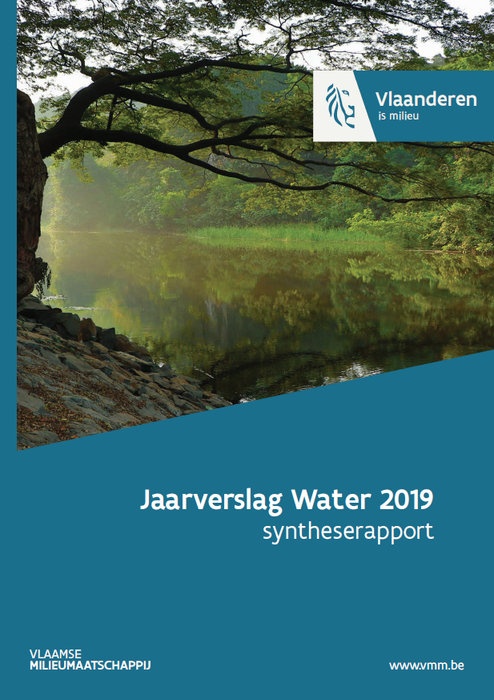 Cover samenvatting jaarverslag water 2019 - syntheserapport