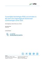 Cover tussentijds rapport PFAS-luchtmetingen Oosterweel