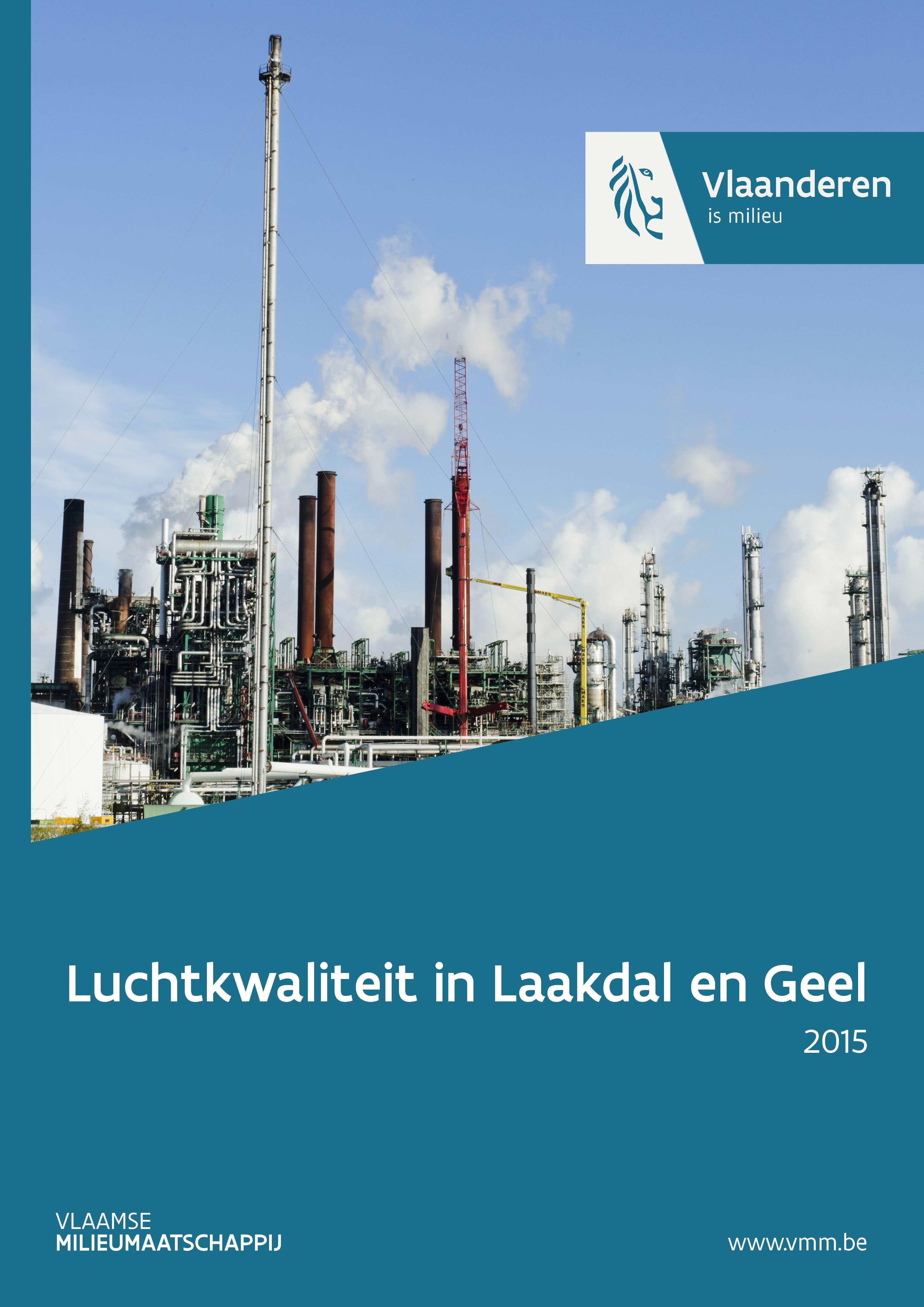 Luchtkwaliteit in Laakdal en Geel in 2015