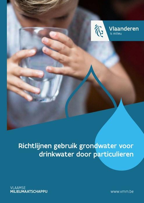Cover richtlijnen gebruik grondwater voor drinkwater door particulieren