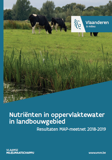 Cover Nutriënten in oppervlaktewater in landbouwgebied