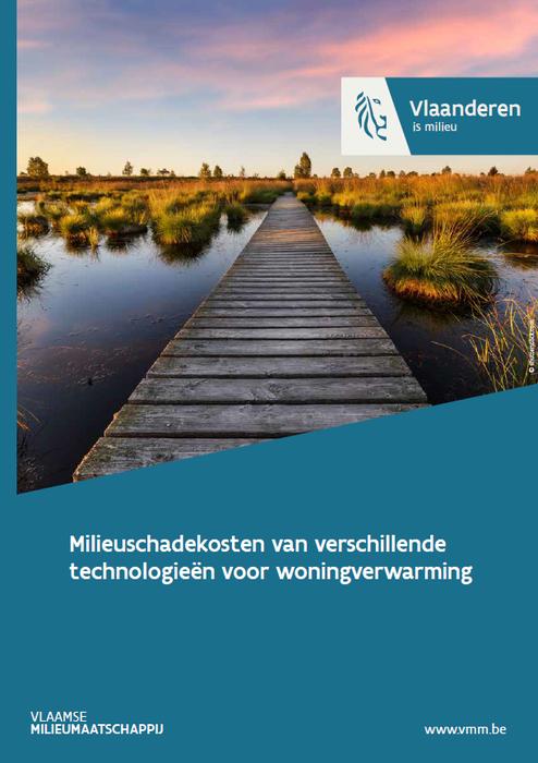 Cover milieuschadekosten van verschillende technologieën voor woningverwarming