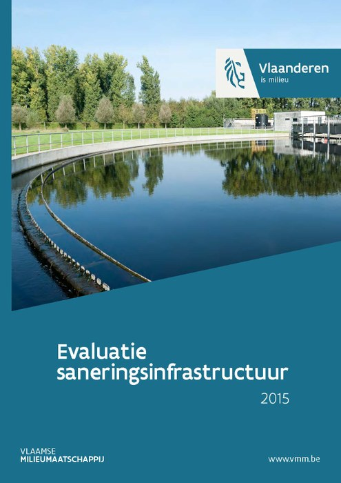 Cover rapport evaluatie waterzuiveringsinfrastructuur