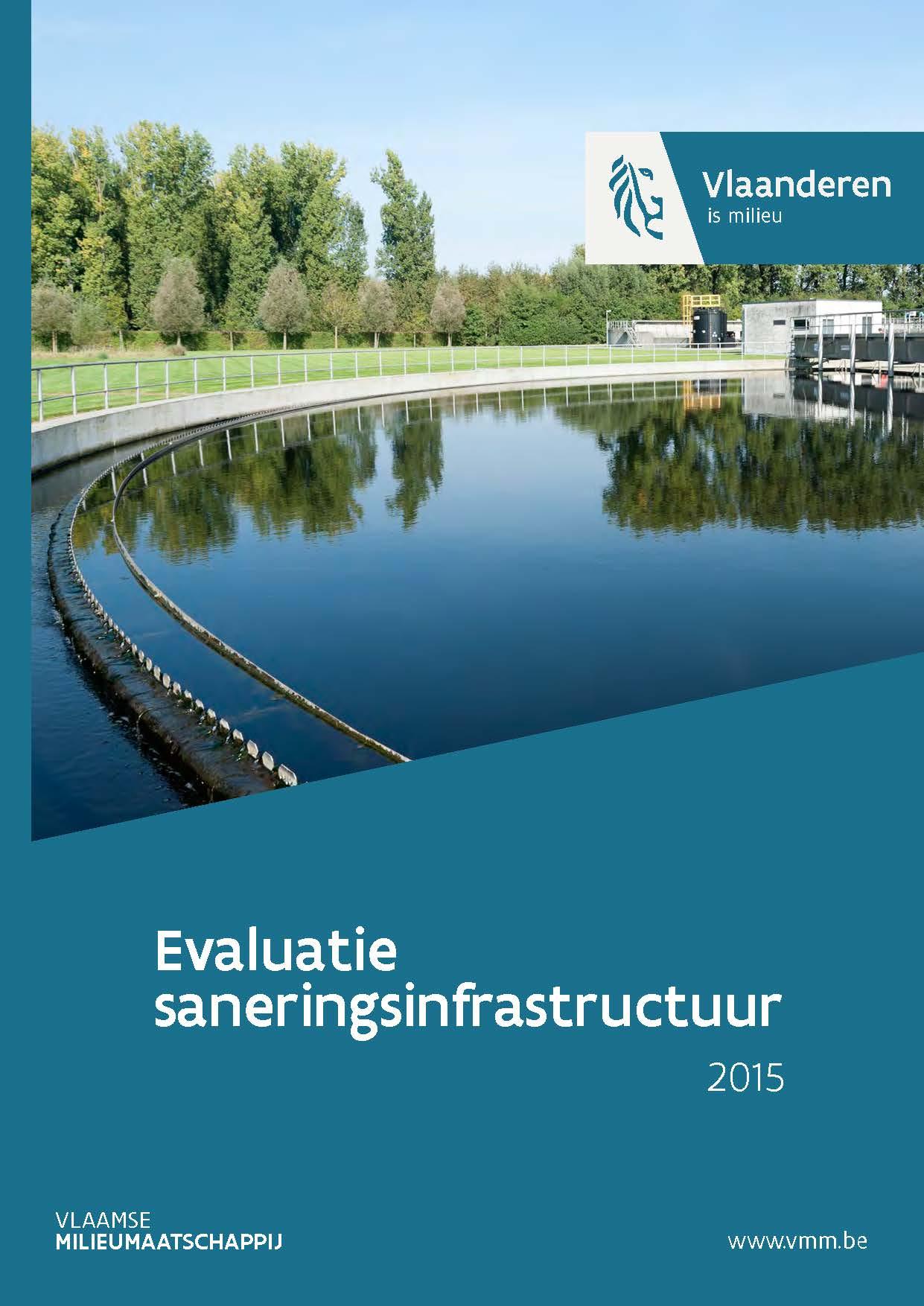Cover rapport evaluatie waterzuiveringsinfrastructuur