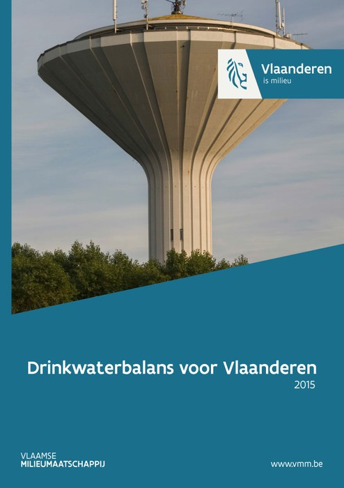 Cover drinkwaterbalans in 2015