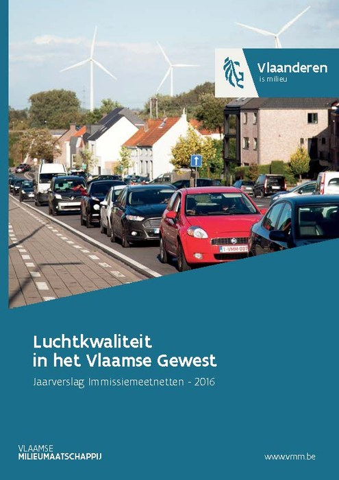 Cover rapport luchtkwaliteit 2016