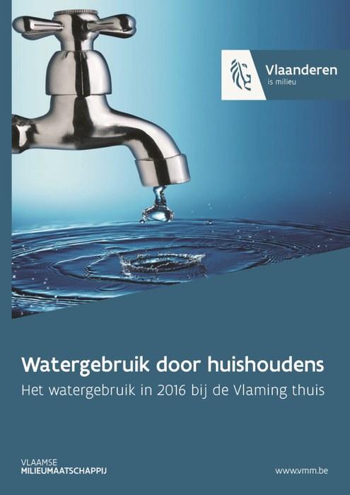 Cover watergebruik door huishoudens