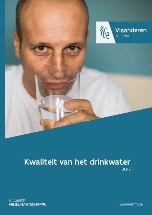 Cover kwaliteit van het drinkwater 2017