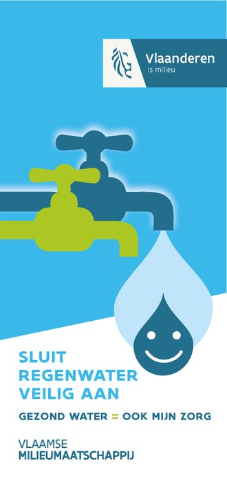 Sluit regenwater veilig aan
