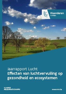 Cover jaarrapport lucht - deel 3 effecten luchtvervuiling op gezondheid en ecosystemen