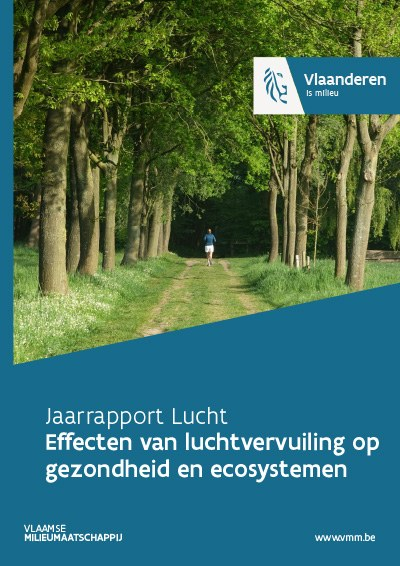 Cover jaarrapport lucht - effecten luchtvervuiling