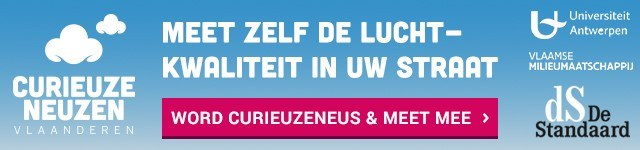CurieuzeNeuzen Vlaanderen: word 1 van de 20.000 burgerwetenschappers