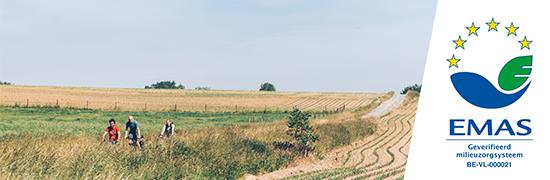 Werk maken van een beter leefmilieu in Vlaanderen is de kerntaak van de Vlaamse Milieumaatschappij. Daarom willen wij een voortrekkersrol in milieuzorg vervullen en zelf de impact van onze werking op het milieu zo veel mogelijk beperken.