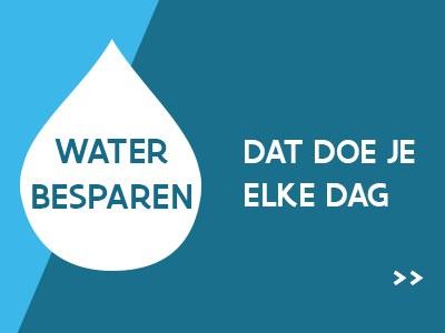 Water besparen - dat doe je elke dag!