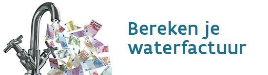 Klopt de rekening van je watermaatschappij? Hoeveel zou je besparen door minder water te verbruiken. Reken hier je factuur na of simuleer een berekening