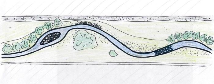 Schets grondplan Ledebeek
