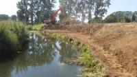 Lokale waterbeheersing: start grondwerken en nieuwe voetgangersbrug (09-07-2018)