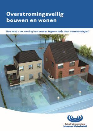 Cover brochure overstromingsveilig bouwen en wonen