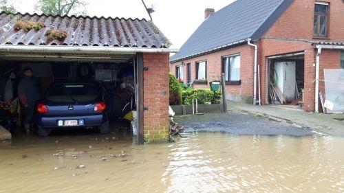 Foto wateroverlast