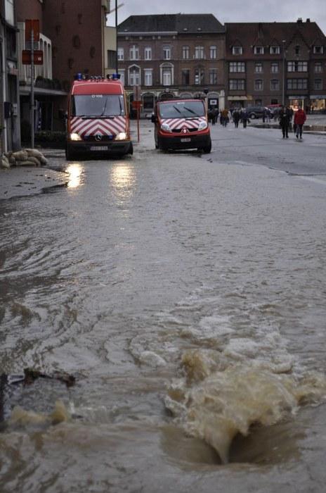 Ondergrondse overstroming