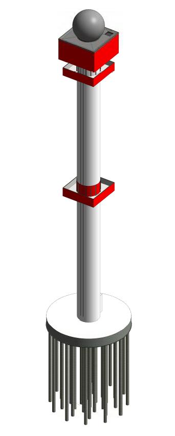 De toren in 3D