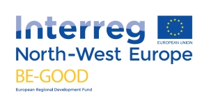 Combinatielogo project BE-GOOD en Interreg