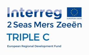 Combinatielogo Triple C - Interreg 2 zeeën