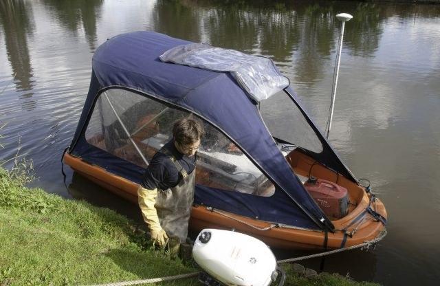 Boot waterkwaliteit meten