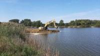 Hengelinfrastructuur ten noorden van het meer afgerond