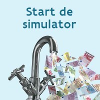 Start de simulator waterfactuur