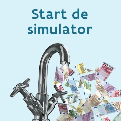 Start de simulator