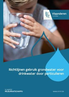 Foto: cover richtlijnen gebruik grondwater voor drinkwater door particulieren